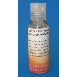 Massage oil for Hallux valgus