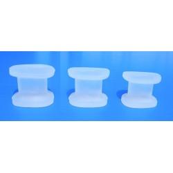 Ecarteurs d'orteils en gel de silicone
