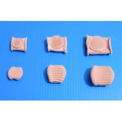 Protection pour orteils en gel de silicone