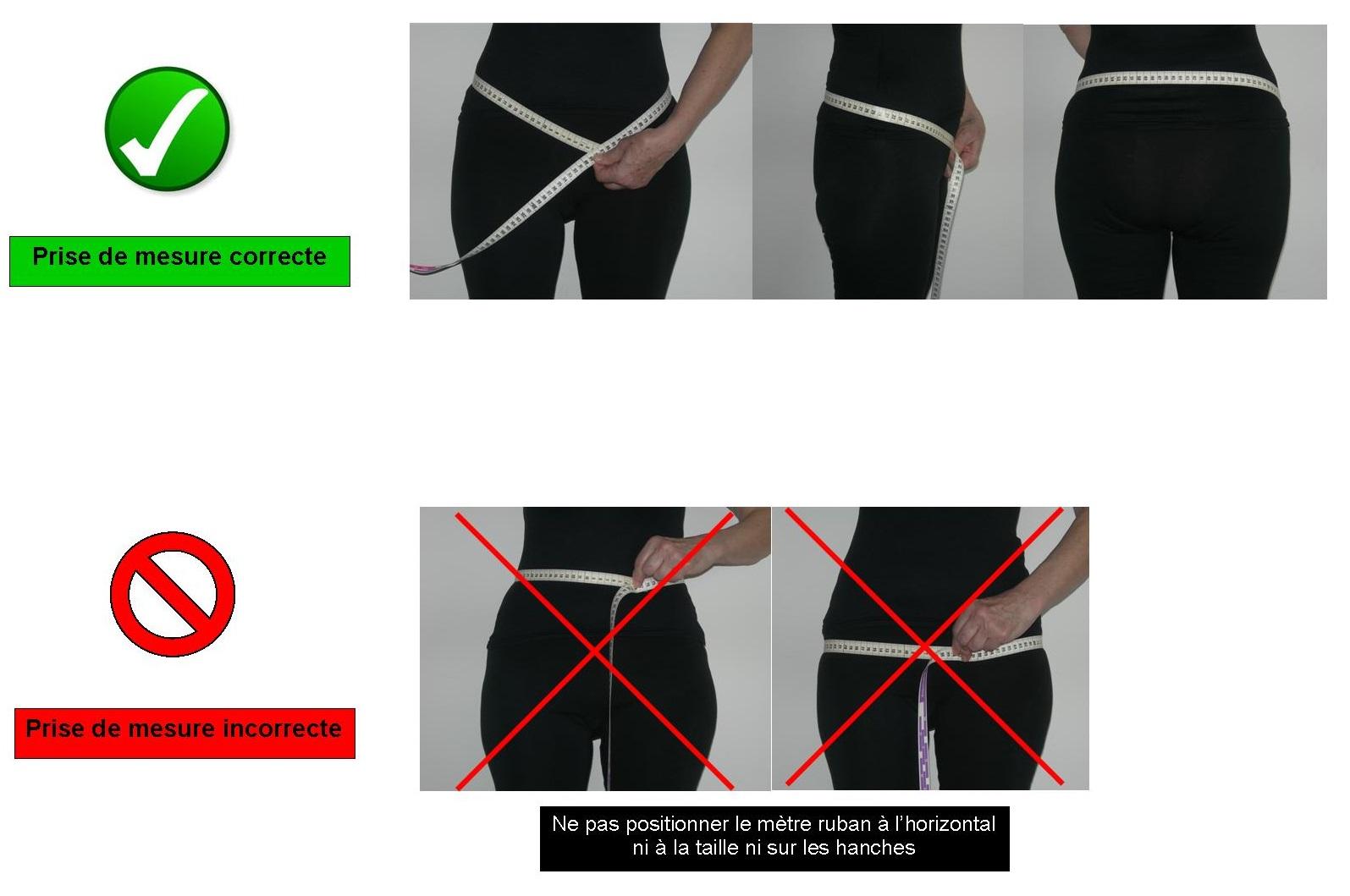 Prise mesure ceinture INGUISTAR